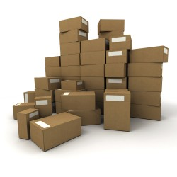 Dėžės su kroviniais